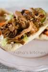 Pulled Chicken Pita
