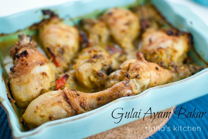 Gulai ayam panggang