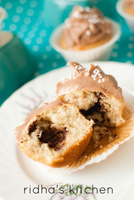 kanelbullar cupcake