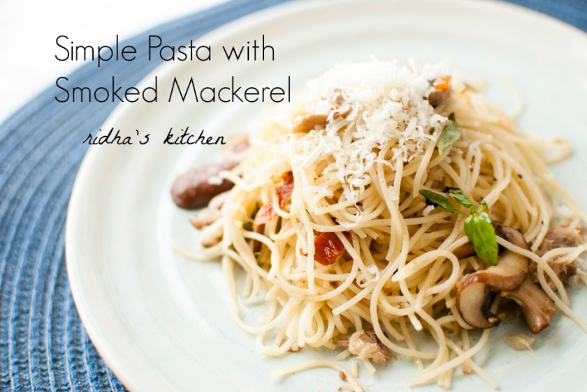 Mackerel pasta