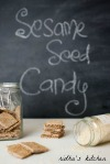 Sesame seed candy