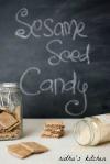 Sesame seed candy