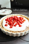 Rasberry chocolate  pie