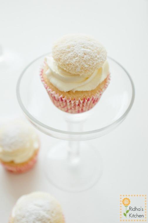 Semla cupcakes