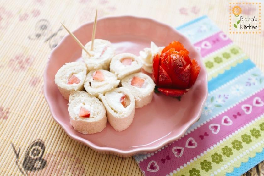 Strawberry and cream